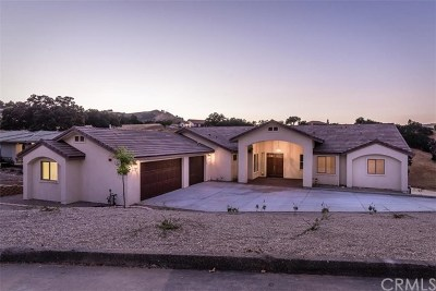Santa Margarita, Templeton, Atascadero, Paso Robles Single Family Home For Sale: 9860 Bluegill Drive
