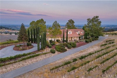 Santa Margarita, Templeton, Atascadero, Paso Robles Single Family Home For Sale: 1340 Valley Quail Place