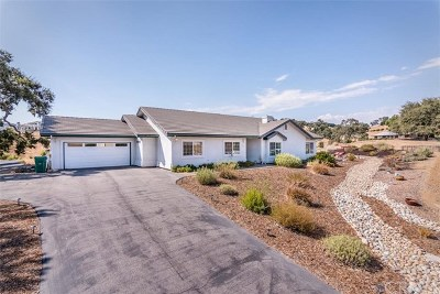 Atascadero Single Family Home For Sale: 9600 Enchanto Road