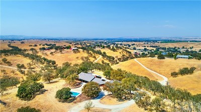 Paso Robles Single Family Home For Sale: 7860 Blue Moon Road