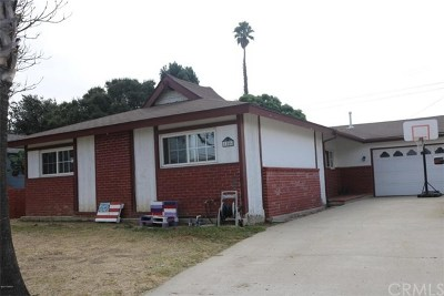 Santa Maria Single Family Home For Sale: 1506 Gregory Court