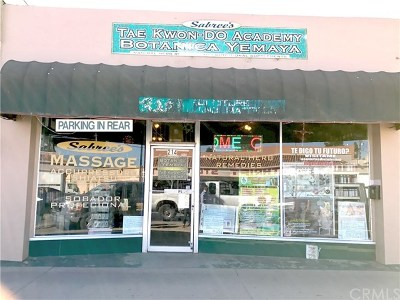 Santa Maria Commercial For Sale: 214 W Main Street