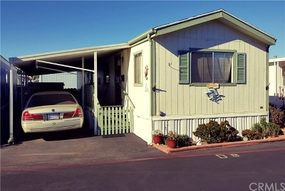 Morro Bay Mobile Home For Sale: 500 Atascadero Avenue