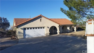 Paso Robles CA Single Family Home For Sale: $650,000