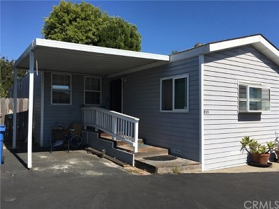 San Luis Obispo CA Mobile Home For Sale: $225,000