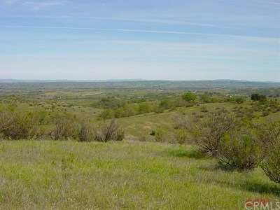 San Luis Obispo County Residential Lots & Land For Sale: 2600 Poco Rd.
