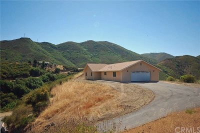 Santa Margarita Single Family Home For Sale: 9221 Tassajara Creek Road