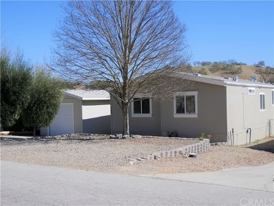 Paso Robles Manufactured Home For Sale: 4398 Valley Lane