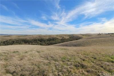 San Luis Obispo County Residential Lots & Land For Sale: Straw Ridge Road