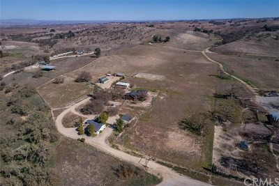 Paso Robles Single Family Home For Sale: 1350 Penman Springs Road