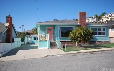 Pismo Beach Single Family Home For Sale: 521 San Luis Avenue