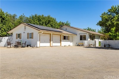Paso Robles CA Single Family Home For Sale: $734,000