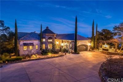Santa Margarita, Templeton, Atascadero, Paso Robles Single Family Home For Sale: 3560 Sibley Lane
