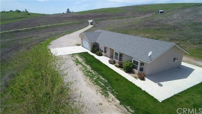 Paso Robles Single Family Home For Sale: 2750 Lazy Hill Road