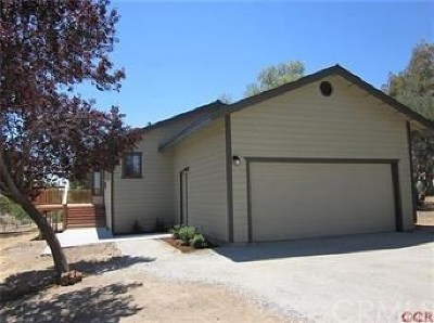 Paso Robles Single Family Home Active Under Contract: 5596 Prancing Deer Place