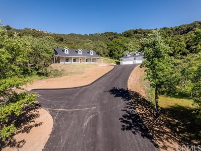 Atascadero Single Family Home For Sale: 9710 Laurel Road