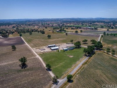 Templeton, Paso Robles Single Family Home For Sale: 5355 Camp 8 Road