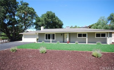 Atascadero Single Family Home For Sale: 8445 Portola Road