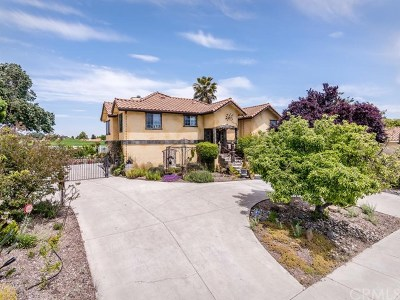 San Luis Obispo County Single Family Home For Sale: 1902 Rambouillet Road