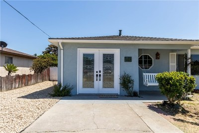 Grover Beach Single Family Home For Sale: 1474 Nice Avenue
