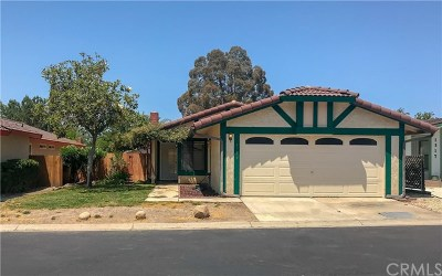 Paso Robles Single Family Home For Sale: 1319 White Clover Lane