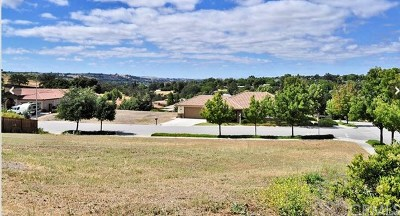 Santa Margarita, Templeton, Atascadero, Paso Robles Residential Lots & Land For Sale: 680 Red Cloud Road