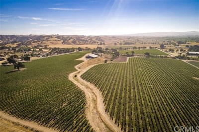 San Luis Obispo County Residential Lots & Land For Sale: 8235 Creston Road