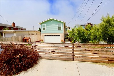 Morro Bay Single Family Home For Sale: 2577 Greenwood Avenue