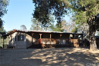 Paso Robles Single Family Home For Sale: 5505 Whispering Pines Lane