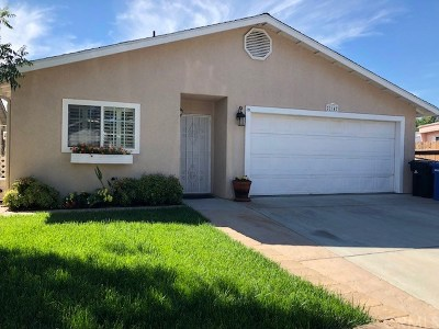 Santa Margarita Single Family Home For Sale: 22147 J Street