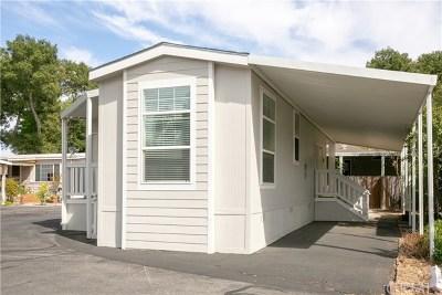 Atascadero Mobile Home For Sale: 1228 Camino Del Roble