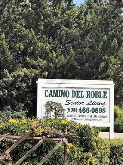 Atascadero Mobile Home For Sale: 1253 Camino Del Robles