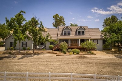 Templeton Single Family Home For Sale: 228 L P Ranch Road