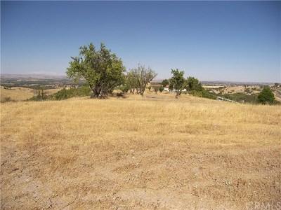 Santa Margarita, Templeton, Atascadero, Paso Robles Residential Lots & Land For Sale: Sky Ridge