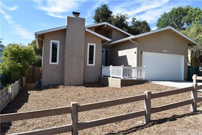 Atascadero Single Family Home For Sale: 8953 Arcade Road