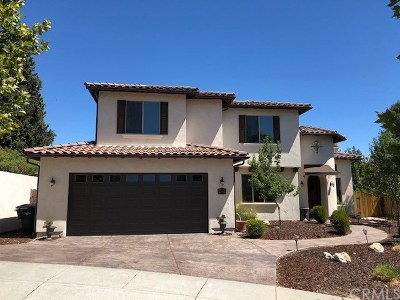Paso Robles Single Family Home For Sale: 2442 Casa Blanca Court