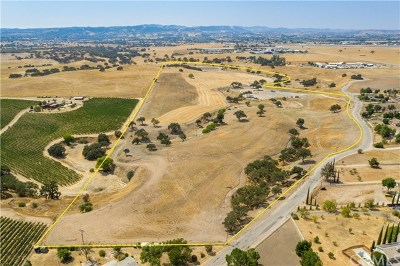 San Luis Obispo County Residential Lots & Land For Sale: Dry Creek Road