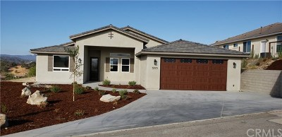 Paso Robles Single Family Home For Sale: 3375 Lakeside Village Drive