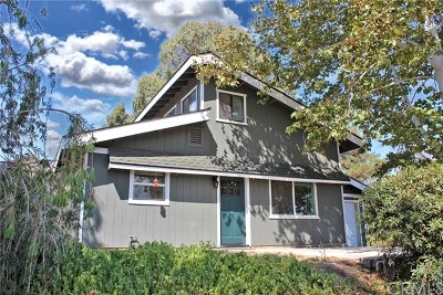 San Luis Obispo County Single Family Home For Sale: 5450 Oak Tree Valley Road