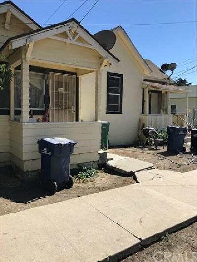 King City Multi Family Home For Sale: 313 Bassett Street