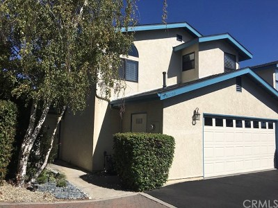 San Luis Obispo County Condo/Townhouse For Sale: 9375 Musselman Drive #B