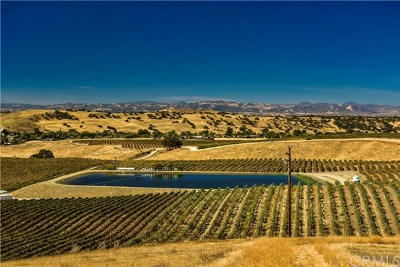 Paso Robles Residential Lots & Land For Sale: 3790 Gruenhagen Flat Road
