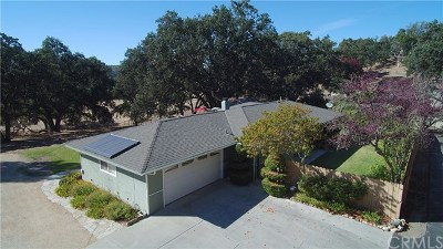 Atascadero Single Family Home For Sale: 9250 Santa Lucia Road