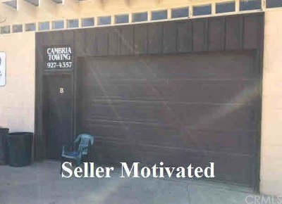 San Luis Obispo County Commercial For Sale: 4337 Bridge Street #C