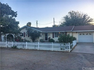 San Luis Obispo County Single Family Home For Sale: 363 Mesa Grande Drive