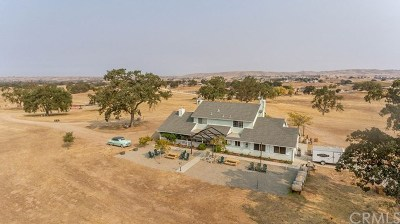 San Luis Obispo County, Monterey County, Santa Barbara Single Family Home For Sale: 5225 E Hwy 41
