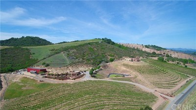 San Luis Obispo County Commercial For Sale: 3775 Adelaida Road