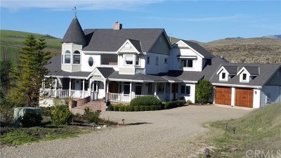 San Luis Obispo CA Single Family Home For Sale: $1,849,000