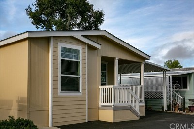 Atascadero Mobile Home For Sale: 1221 Camino Del Roble