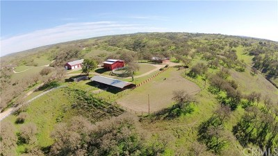 San Luis Obispo County Single Family Home For Sale: 7830 Blue Moon Road
